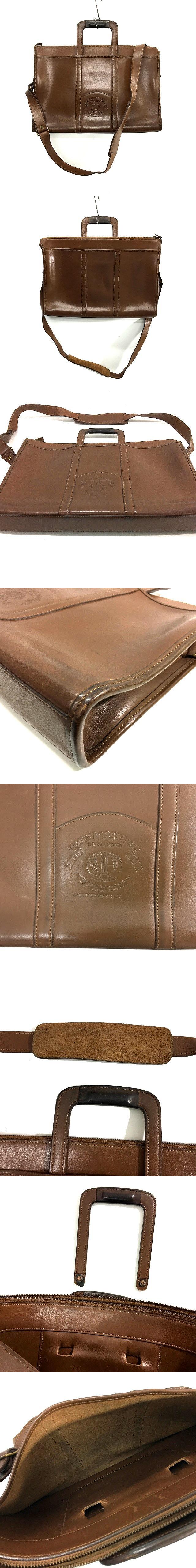 MARLEY HODSON No.33 ブリーフケース 2WAY A4サイズ対応 ビジネス 茶 ブラウン ショルダー ジャンク 鞄 かばん IBS8