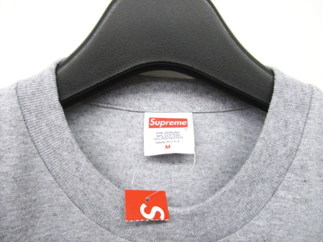 未使用品 シュプリーム SUPREME 18SS Ganesha Tee Heather Grey Tシャツ カットソー ガネーシャ プリント 半袖 灰 グレー M 0703 メンズ
