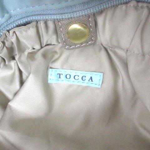 トッカ TOCCA マザーバッグ トートバッグ マザーズバッグ 2WAY ショルダーバッグ ミニポーチ付き おむつ替えシート付き パステルグリーン 緑 刺繍 NVW X レディース