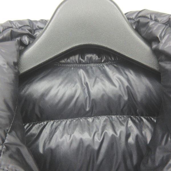 モンクレール MONCLER DOUDOUNE LEGERE ANETTE ダウンジャケット ダウンコート フリル 黒 ブラック 6 115cm ECR5 0522 キッズ