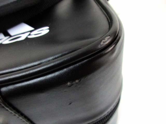 アディダス adidas ブリーフケース バッグ フェイクレザー 合成皮革 鞄 カバン ロゴ 黒 ブラック ユニセックス