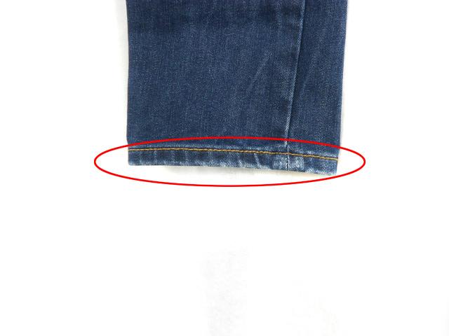 ギャップキッズ GAP KIDS デニム スキニー パンツ ジーンズ ウエストゴム ダメージ加工 紺 ネイビー 14 ボトムス キッズ 子供服 レディース