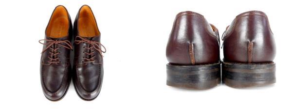 ジェイエムウエストン J.M.WESTON ゴルフ GOLF OXFORD 641 オックスフォード Uチップ レザー 革製 シューズ 革靴 7D ダークブラウン メンズ