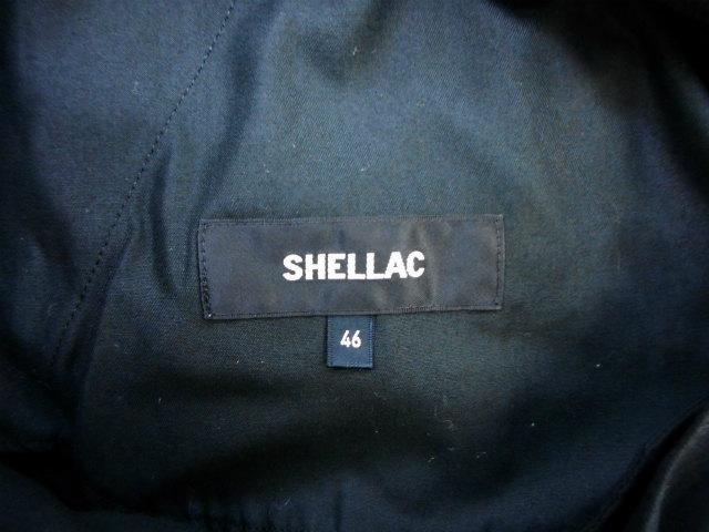シェラック SHELLAC テーパード パンツ ボトム ズボン 46 ブラック 黒 メンズ