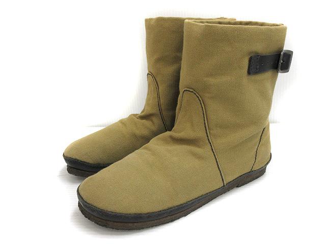 212223285370 コース KOOS ROMEO-S ショート ブーツ シューズ 靴 レザー 本革 ベルト 37 カーキグリーン系 レディース