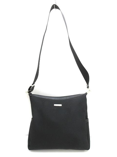 pretty nice 7c753 8d4a8 グッチ GUCCI ショルダーバッグ BAG ブラック 肩掛け鞄 カバン ナイロン レザー 本革 メンズ/レディース/ユニセックス