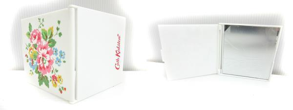 キャスキッドソン Cath Kidston 3点セット ポーチ ティッシュケース ミラー 花柄 アイボリー系 ハンド バッグ かばん 鞄 レディース