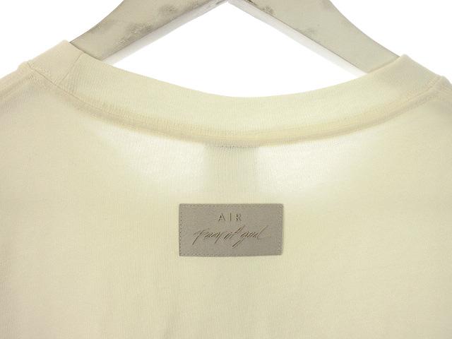 未使用品 ナイキ NIKE フィアオブゴッド FEAR OF GOD トップス Tシャツ M アイボリー NRG W TOP 2020AW カットソー 半袖 メンズ