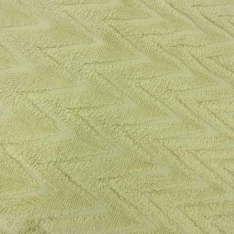 エルメス HERMES スターマーク付き バスマット 柄編み パイル バスタオル バス用品 プール ビーチ ラグ ベルギー製 国内正規 黄 イエロー