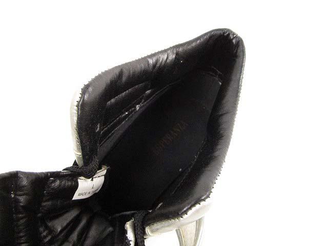 エスペランサ ESPERANZA ヒール スニーカー ブーツ ウェッジソール L シルバー レディース