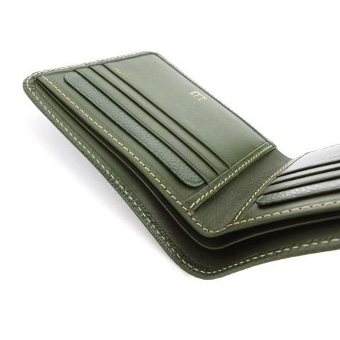 二 つ折り 財布 ダンヒル