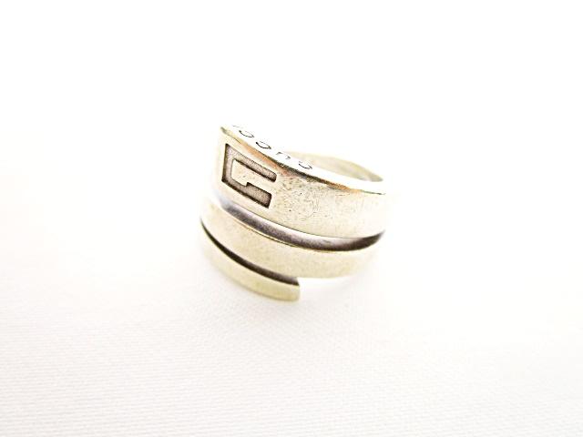 f27d1338980d グッチ GUCCI ツイストリング 指輪 アクセサリー 12 スターリングシルバー SILVER 925 レディース