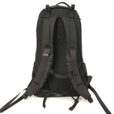 アークテリクス ARC'TERYX Arro22 Backpack アロー22 バックパック リュックサック 24016 stealth black ステルス ブラック 黒 メンズ レディース