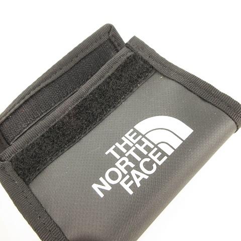 ザノースフェイス THE NORTH FACE NM81821 BC Wallet Mini ウォレット コインケース 小銭入れ 財布 マジックテープ ブラック 黒 アウトドア 国内正規品 美品 ユニセックス メンズ レディース