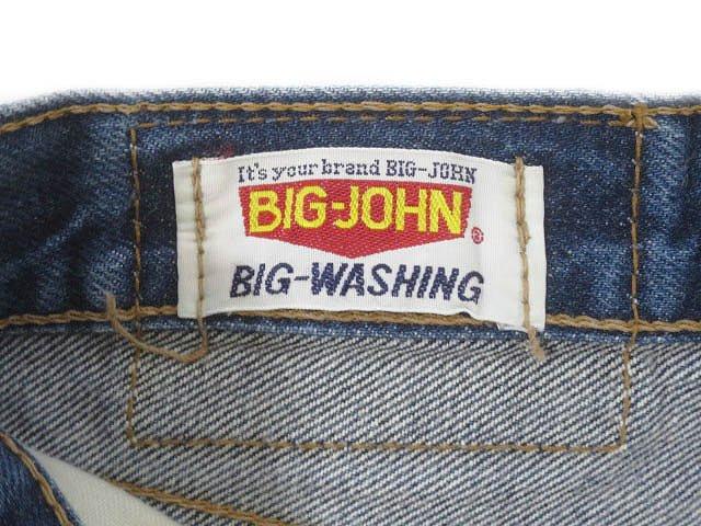 ビッグジョン Big John ブーツカット デニム ジーンズ c-oy-3513 32 青 インディゴ ブルー ブランド古着ベクトル 中古 ● 200531 0010 メンズ