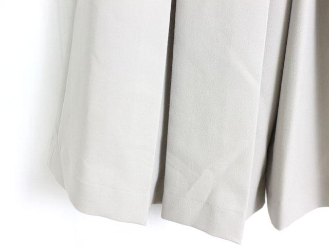 未使用 タグ付 新品 クラネ CLANE パンツ ガウチョ ボックスタック 無地 シンプル 1 アイボリー /C981b SSAW レディース