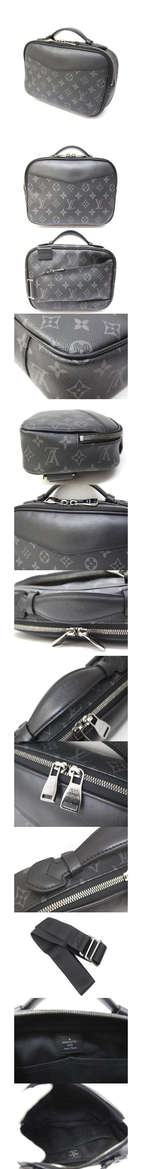 セカンドバッグ ボディバッグ バムバッグ M42906 モノグラム エクリプス 鞄 /Z