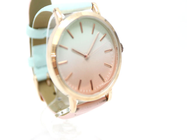 9523e609e9 Nattito 腕時計 ウォッチ グラデーション パステルカラー /Z レディース ...