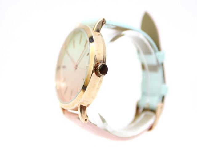 66f9ca3faf ... Nattito 腕時計 ウォッチ グラデーション パステルカラー /Z レディース ...