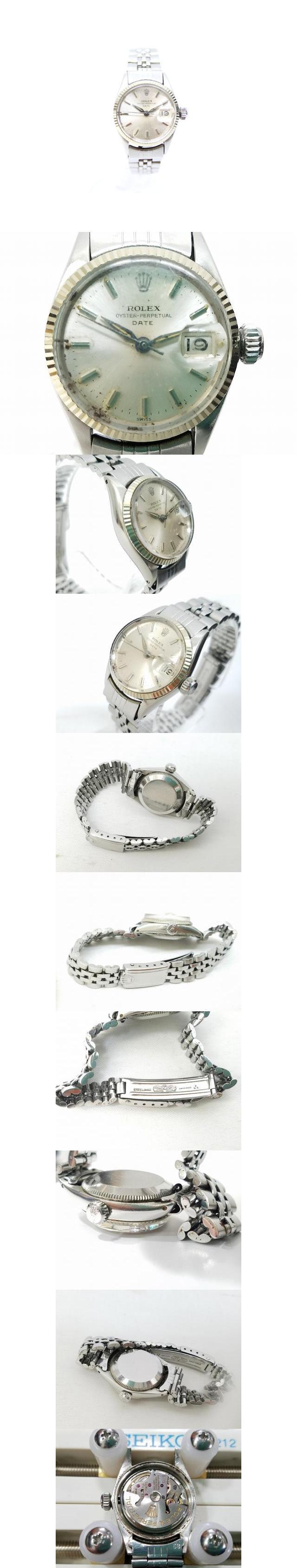 オイスターパーペチュアルデイト 6917 腕時計 ウォッチ 自動巻き ステンレススチール /Z