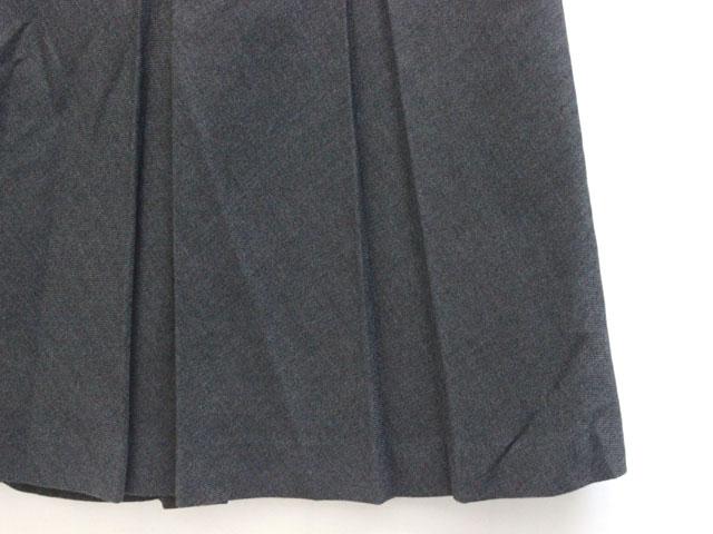 ケティ KETTY スカート ひざ丈 タック シンプル 2 チャコールグレー /ZB レディース
