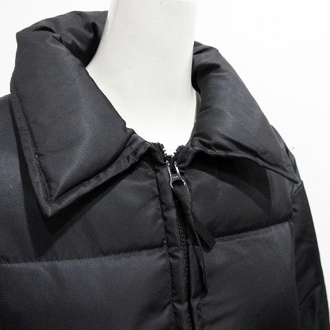 ニューヨーカー NEWYORKER ダウンジャケット 9AR 黒 ブラック系 レディース