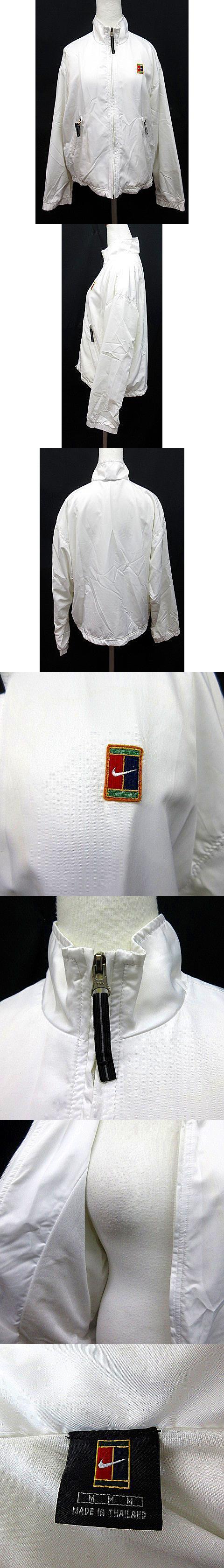 トラックジャケット M 白 ホワイト系