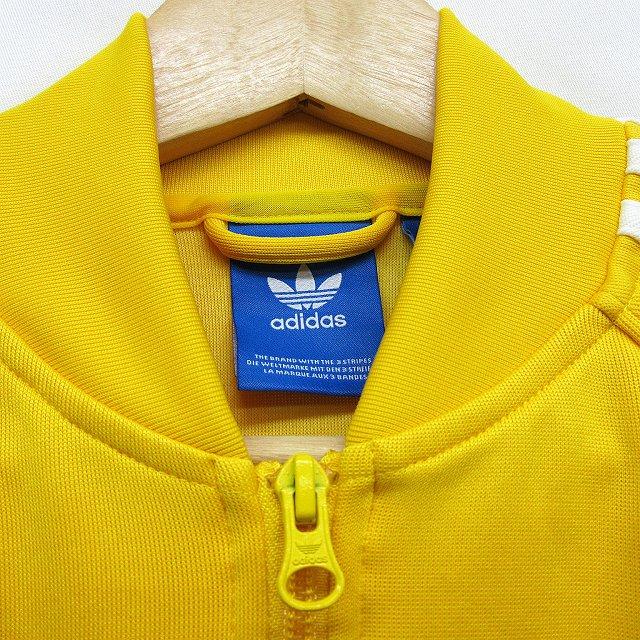 アディダスオリジナルス adidas originals ラグラン トラックジャケット ジャージー M 黄色 イエロー系 ●17 メンズ