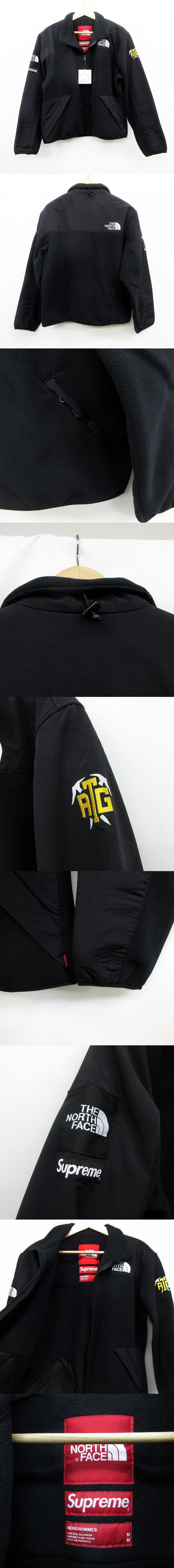 The North Face RTG Fleece Jacket M black ノースフェイス コラボレーション フリース ジャケット 黒  NA71904I
