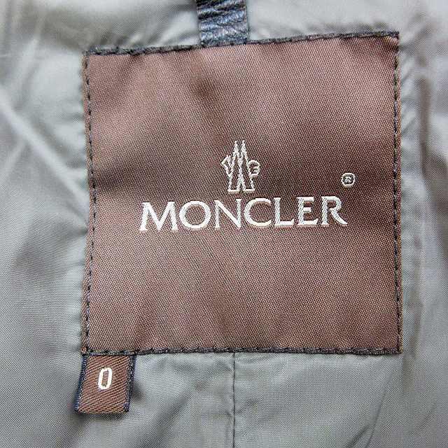 モンクレール MONCLER モンタナ ダウンジャケット 0 XS~S サイズ相当 茶 ブラウン系 69839 MONTANA 茶タグ レディース