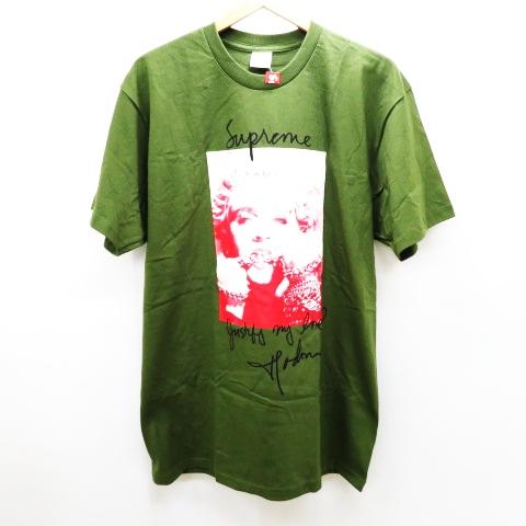 f3bf6a2f4bc5 未使用品 シュプリーム SUPREME ☆AA☆18AW Madonna Tee Olive マドンナTシャツ オリーブ L メンズ
