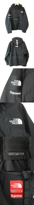 ★AA☆The North Face Steep Tech Hooded Jacket Black M 黒ブラック ノースフェイス ジャケット