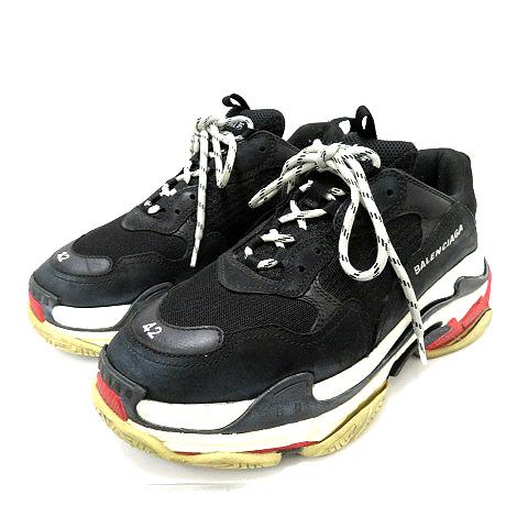 wholesale dealer f5d56 0324c バレンシアガ BALENCIAGA ★AA☆TRIPLE S SNEAKERS トリプルソール スニーカー 42 533882 W09O1  靴スニーカー メンズ