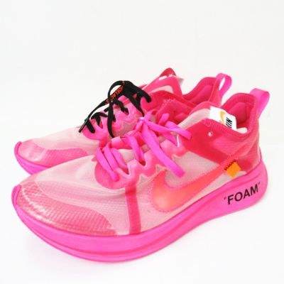 OFF-WHITE THE 10 ZOOM FLY TULIP PINK