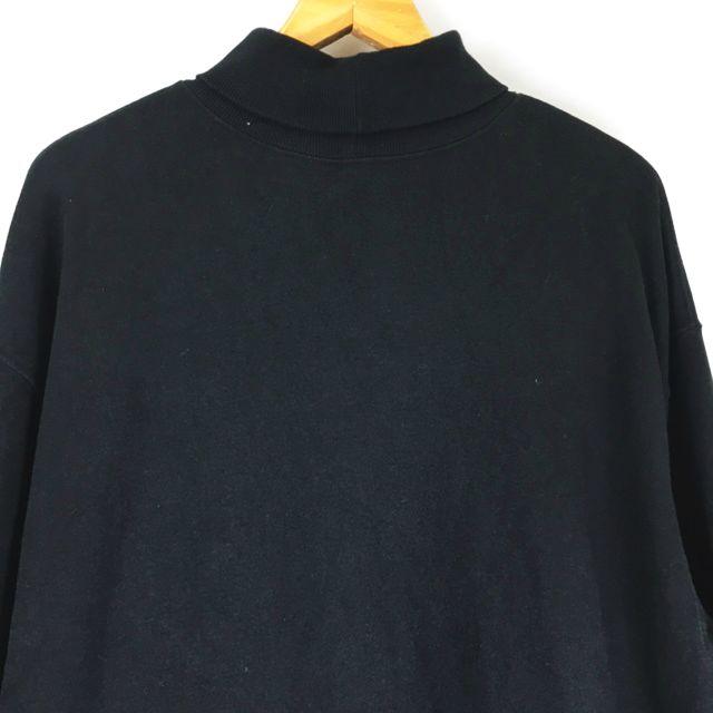 ハレ HARE リブ タートルネック ロングスリーブ 長袖 Tシャツ カットソー HA020759SZ 黒 ブラック S メンズ