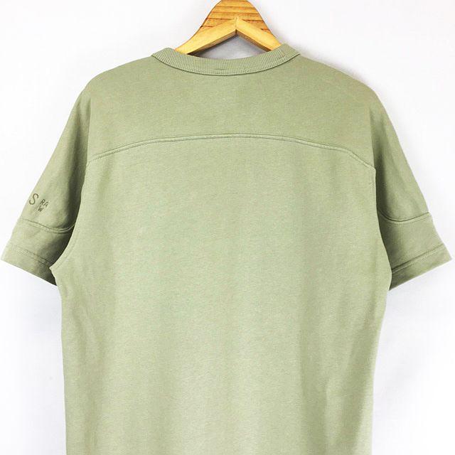 ジースターロウ G-Star RAW  SUMMER ARMY S/S サマーアーミー  胸ポケット 半袖 スウェット カットソー オリーブグリーン系 M メンズ