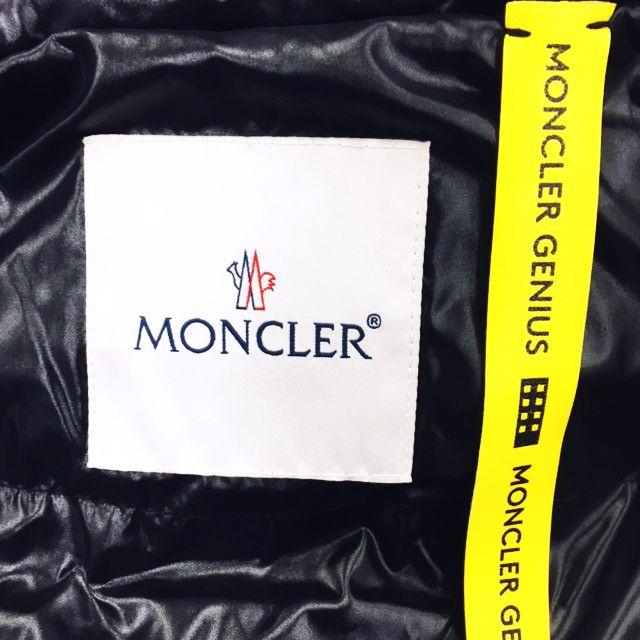 モンクレール MONCLER GENIUS NOIR KEI NINOMIYA  ジーニアス ノワール ケイニノミヤ  ロング ダウンコート 黒 ブラック 1 レディース
