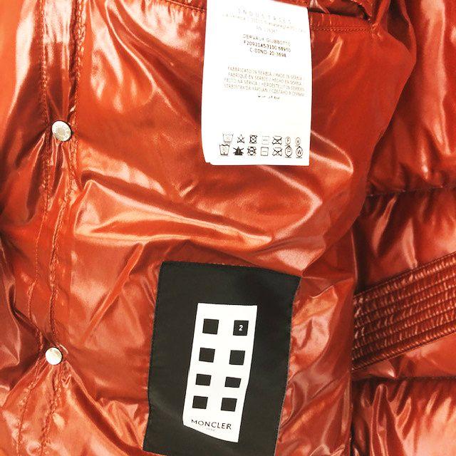 モンクレール MONCLER GENIUS 2 DERVAUX GIUBBOTTO 1952 DERVAUX JACKET 1A53100 68950 ジーニアス ダウンジャケット  黒 ブラック 0 メンズ