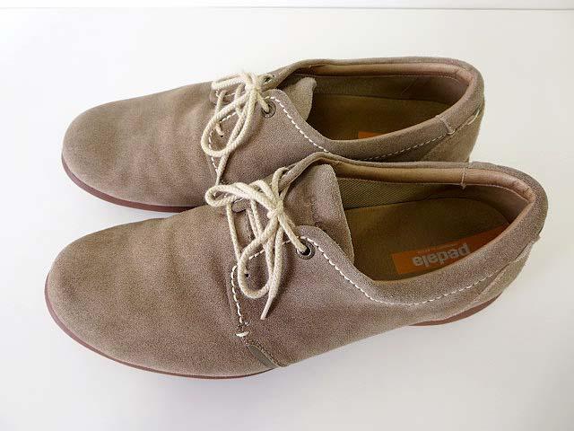 アシックス asics ペダラ pedara シューズ ウォーキングシューズ スエード レザー ビジネスシューズ 靴 くつ 28.0 EEE ベージュ  モカ 幅広 ワイズ メンズ