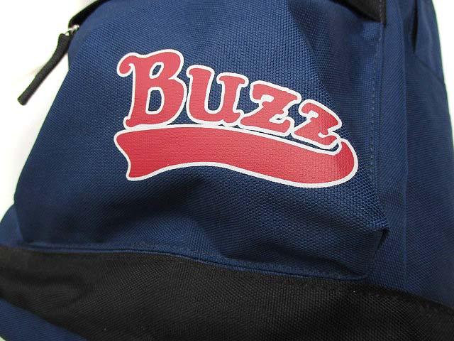 未使用品 ベベ bebe バズファズ BUZZ FUZZ リュックサック バックパック リュック かばん 鞄 ネイビー 紺 タグ付き キッズ