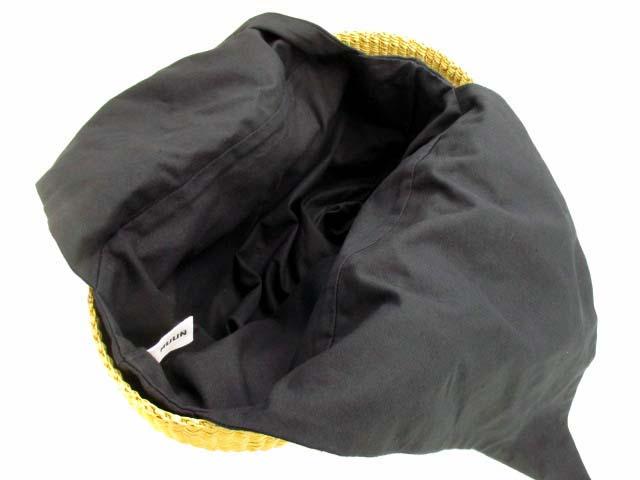 ムーニュ MUUN 2wayエレファントグラスカゴバッグ GEORGE かごバッグ カゴバッグ トート ハンドバッグ ショルダーバッグ ベージュ系 ブラック カバン 鞄 レディース