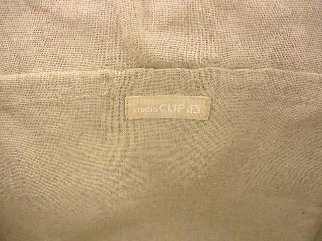 スタディオクリップ Studio Clip かごバッグ カゴバッグ トートバッグ 鞄 カバン ライトブラウン ブラック  レディース
