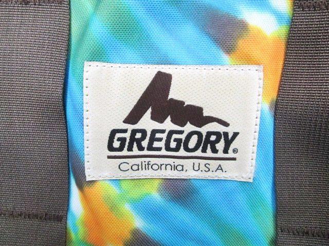 グレゴリー GREGORY ボストンバッグ タイダイ 旧タグ DANCING BAREFOOT カラフル 一室構造 XS A4 青 ブルー マルチカラー C071910 メンズ