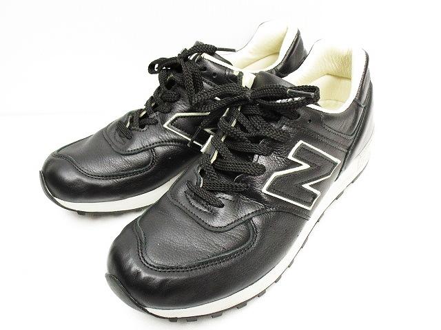 aa85912a71cdd ニューバランス NEW BALANCE 576 LIMITED EDITION スニーカー レザー UK9 黒 ブラック メンズ