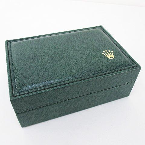 check out fb6ea 3334b ロレックス ROLEX 外箱 内箱 冊子 腕時計入れ 純正 付属品 緑系 グリーン その他