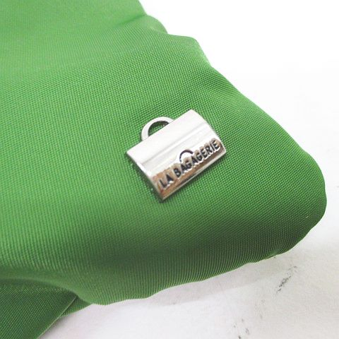 ラバガジェリー LA BAGAGERIE 2WAY ポシェット ポーチ ショルダーバッグ グリーン 緑系 レディース