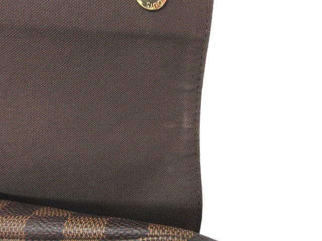 ルイヴィトン LOUIS VUITTON ショルダーバッグ ナヴィグリオ N45255 ダミエ ヌベエ 茶色 ブラウン 正規品 ※S  メンズ レディース