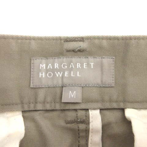 マーガレットハウエル MARGARET HOWELL ハーフパンツ ショート M グレージュ /TK メンズ