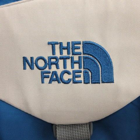 ザノースフェイス THE NORTH FACE リュックサック バックパック ナイロン 青 ブルー グレー /AD25 メンズ
