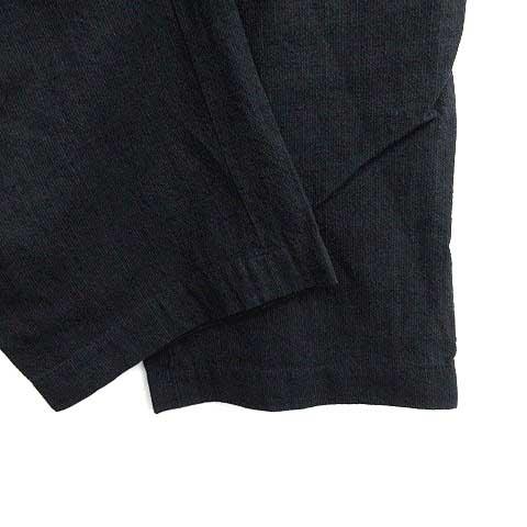 マーガレットハウエル MARGARET HOWELL パンツ ワイド リネン混 1 黒 ブラック /YM レディース